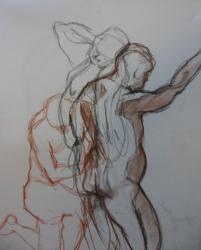 étude.jac. 3 crayons